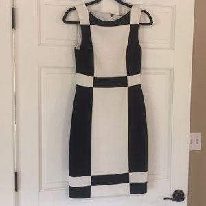 WHBM sheath sleeveless dress